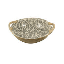 VEGETABLE BOWL WITH HANDLES photo