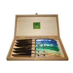 CLAUDE DOZORME STEAK KNIVES