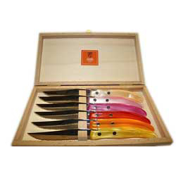 CLAUDE DOZORME STEAK KNIVES photo