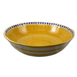 SOLID CAMPAGNA LARGE SERVE BOWL