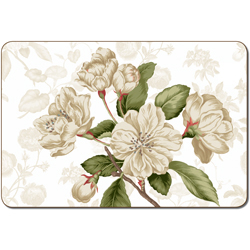 CUSTIS GARDEN CAMELLIA PLACEMAT SET