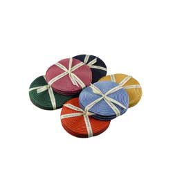 IVORY DUST ROUND COASTER SET