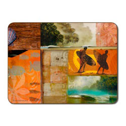 COASTAL FUSION PLACEMAT SET
