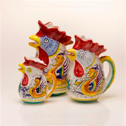 SMALL ROOSTER PITCHER photo