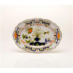 SMALL  OVAL SERVING PLATTER photo