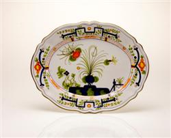 LARGE OVAL SERVING PLATTER
