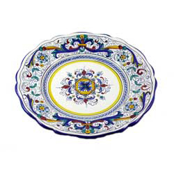SCALLOPED SALAD PLATE