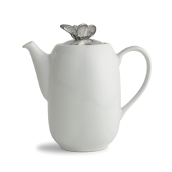Giardino Large Coffee Pot with Butterfly