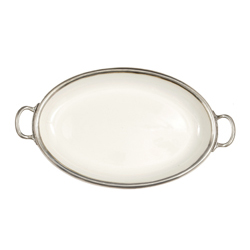 TUSCAN OVAL TRAY  photo