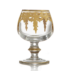 VETRO GOLD BRANDY GLASS photo