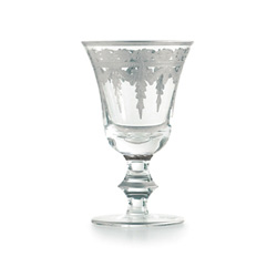 Vetro Silver Wine Glass, 4pk