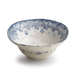 BURANO SMALL SERVING BOWL photo