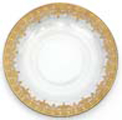 GOLD DINNER PLATE photo