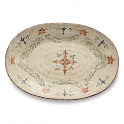 MEDICI LARGE OVAL PLATTER photo