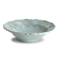 MERLETTO AQUA SERVING BOWL