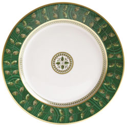 MALACHITE SALAD PLATE - 8.3