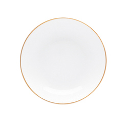 COUPE BREAD PLATE  sc 1 st  la Terrine & Coupe Dinner Plate In Palmyre By Bernardaud | la Terrine