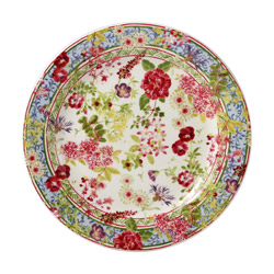 CANAPE PLATES, SET OF 4
