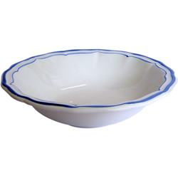 FILETS BLEU CEREAL BOWLS, BOXED SET OF 6