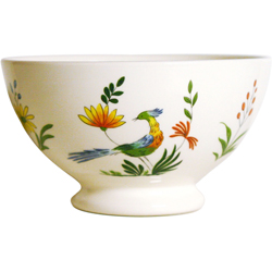 OISEAUX DE PARADIS  BOWLS, BOXED SET OF 2