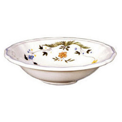 OISEAUX DE PARADIS  CEREAL BOWLS, BOXED SET OF 6