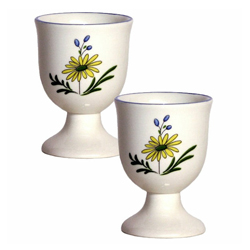 OISEAUX DE PARADIS  EGG CUPS, BOXED SET OF 2