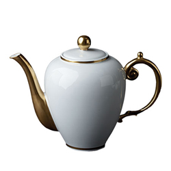 AEGEAN 24KT GOLD TEA/COFFEE POT photo
