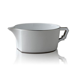 BYZANTEUM PLATINE SAUCE BOAT photo