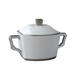 BYZANTEUM PLATINE SUGAR BOWL photo