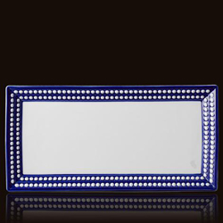 PERLEE BLEU RECTANGULAR TRAY photo