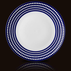 PERLEE BLEU ROUND PLATTER photo