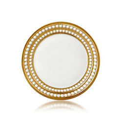 PERLEE GOLD BREAD & BUTTER PLATE photo