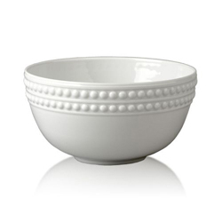 PERLEE WHITE CEREAL BOWL photo