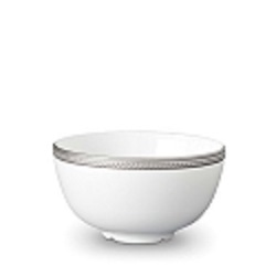 SOIE TRESSEE PLATINUM CEREAL BOWL photo