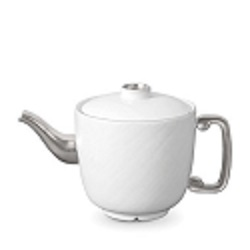 SOIE TRESSEE PLATINUM TEAPOT photo