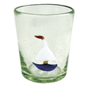 Set of 4 Icon Glass