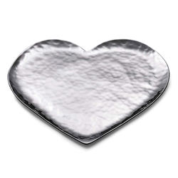 AMORE HEART SHAPED SERVING TRAY 9