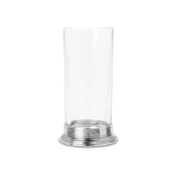 luisa highball glass, crystal