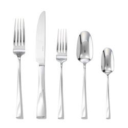 TWIST  5 PCS PLACE SETTING S.H. - STAINLESS STEEL