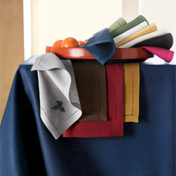 TABLECLOTH OBLONG 66IN. X 86IN. CADET