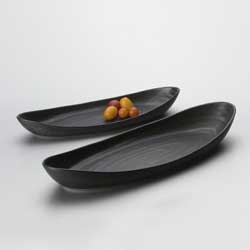 BARRE SERVING TRAY SM, SLATE photo
