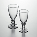 Wine Glasses and Water Goblets