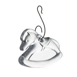 Rocking Horse Ornament in Gift Box photo