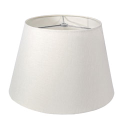 Linen Pembroke Shade - White - 18 Inch photo