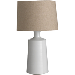 Cabot Pottery Lamp - Alabaster