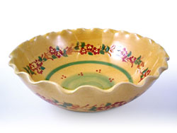 DIVERS LARGE UNDULATING  BOWL