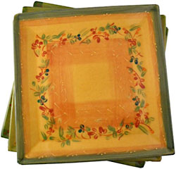 DIVERS MEDIUM SQUARE PLATE/PLATTER