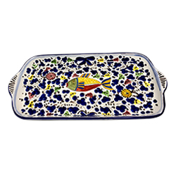 FISH LARGE RECTANGULAR TRAY photo