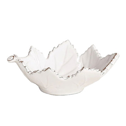 Bianco Small Grape Leaf Bowl
