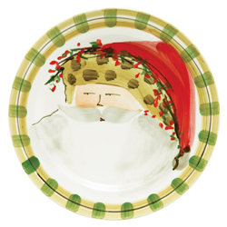 Old St. Nick Dinner Plate - Animal